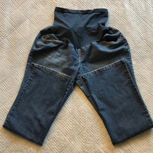 Two Hearts Maternity Boot Cut Jean Size XL